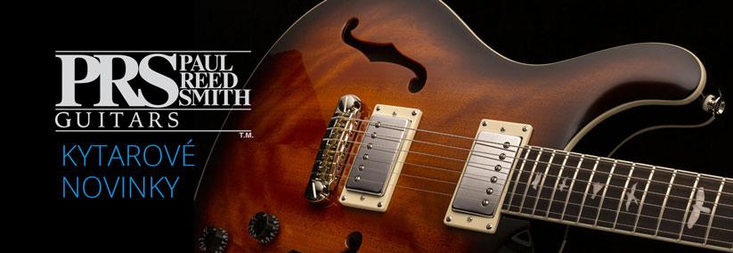 PRS kytary - novinky