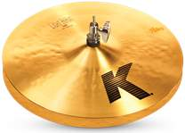 "ZILDJIAN 14"" K light hi hat"