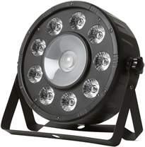 FRACTAL PAR LED 9x10W + 20W