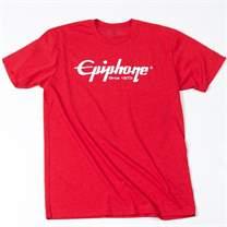 EPIPHONE Logo T-Shirt Red M