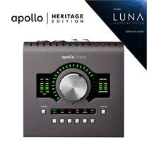UNIVERSAL AUDIO Apollo Twin MKII DUO Heritage Edition (rozbalené)