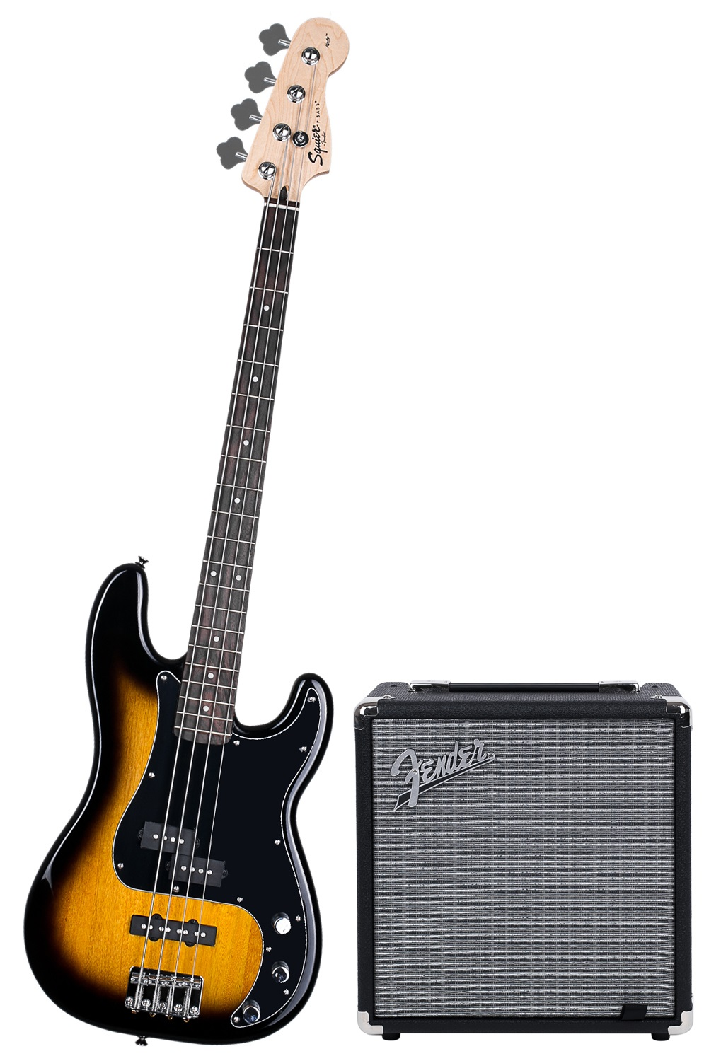 Fender Squier Affinity Series Precision Bass PJ BSB Pack