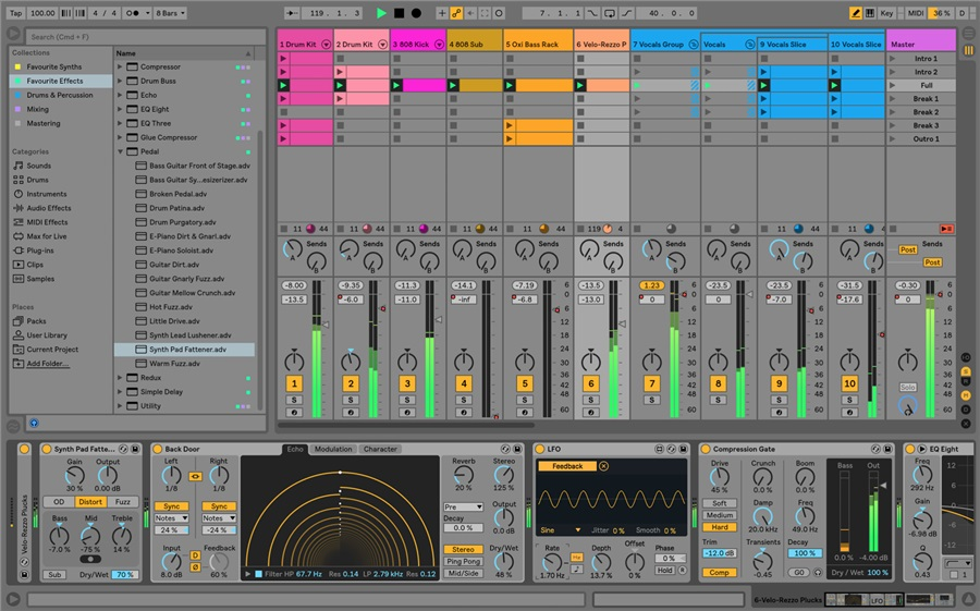 Ableton Live 10 Suite UPG from Intro