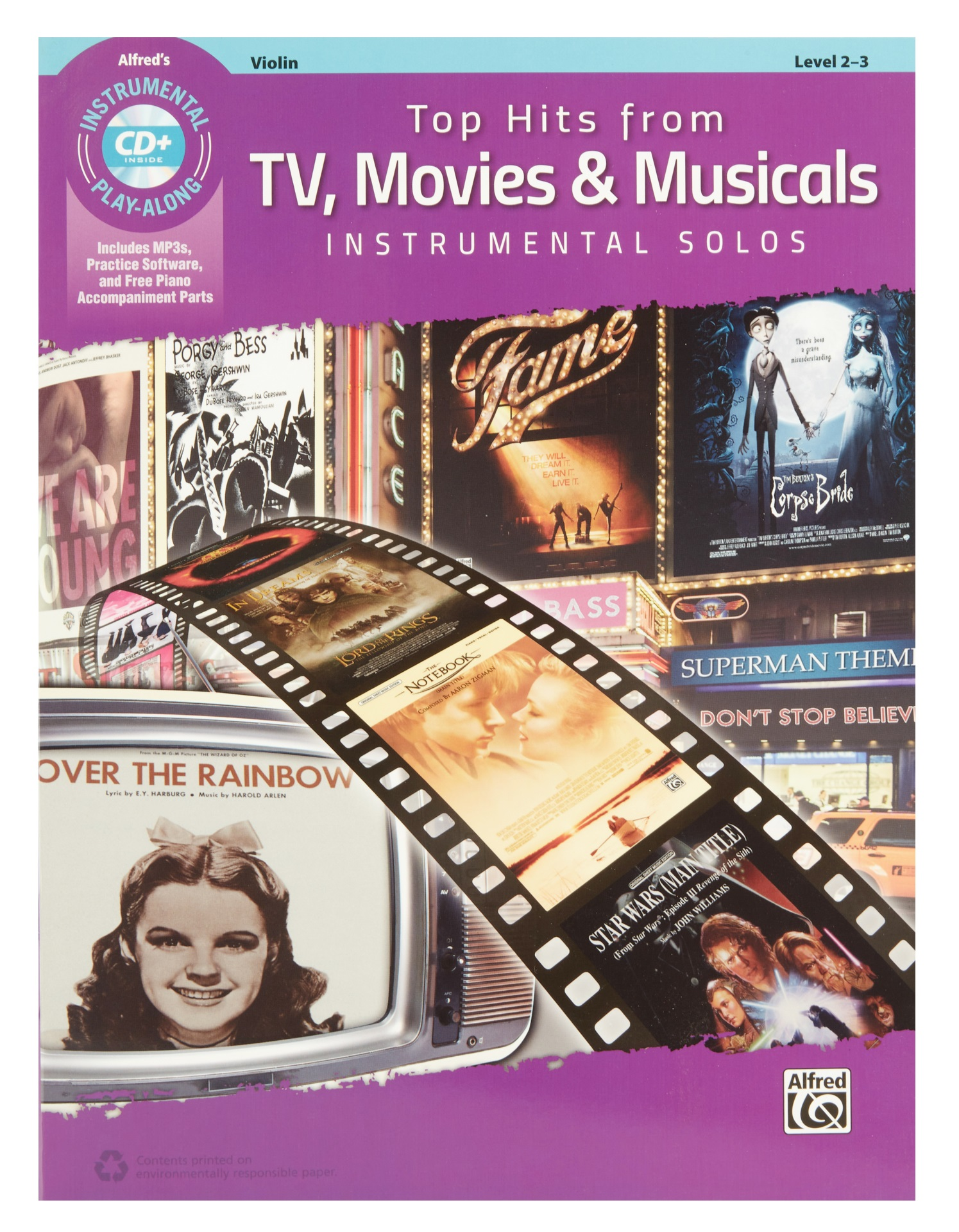 MS Alfred's Instrumental Play-Along: Top Hits From TV, Movies & Musicals