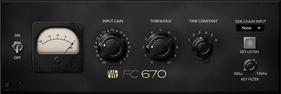 PreSonus FC-670 Compressor
