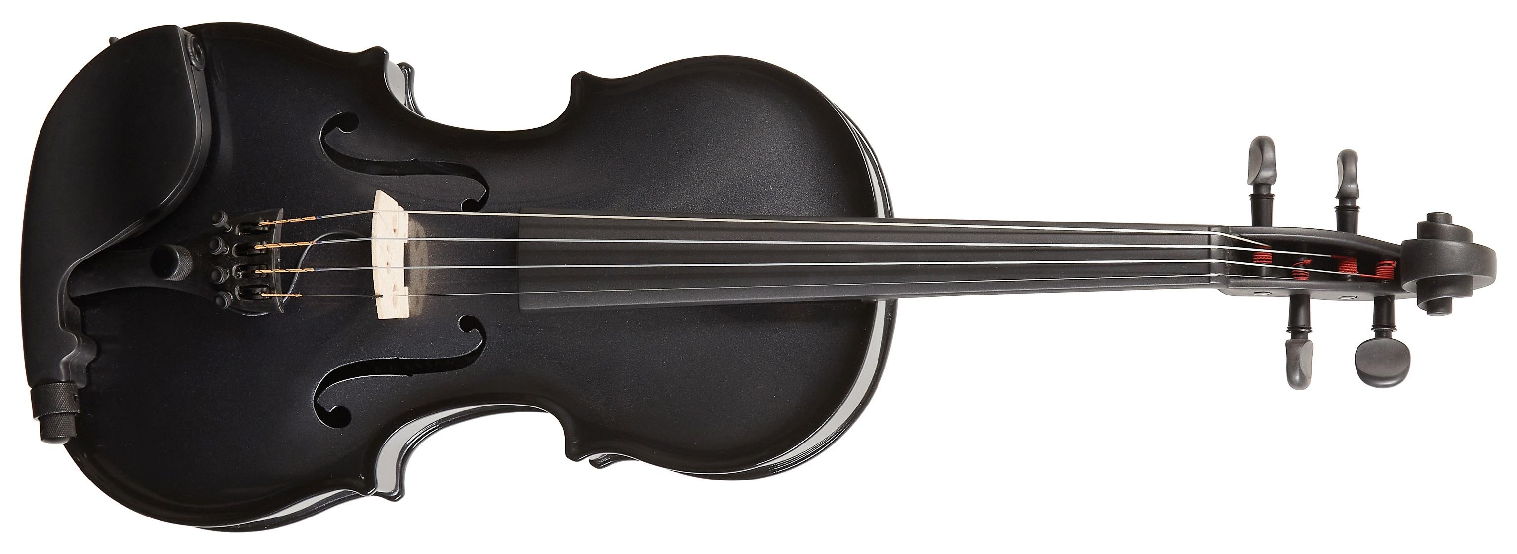 Glasser CC Violin AEX Acoustic Electric Gun Metal