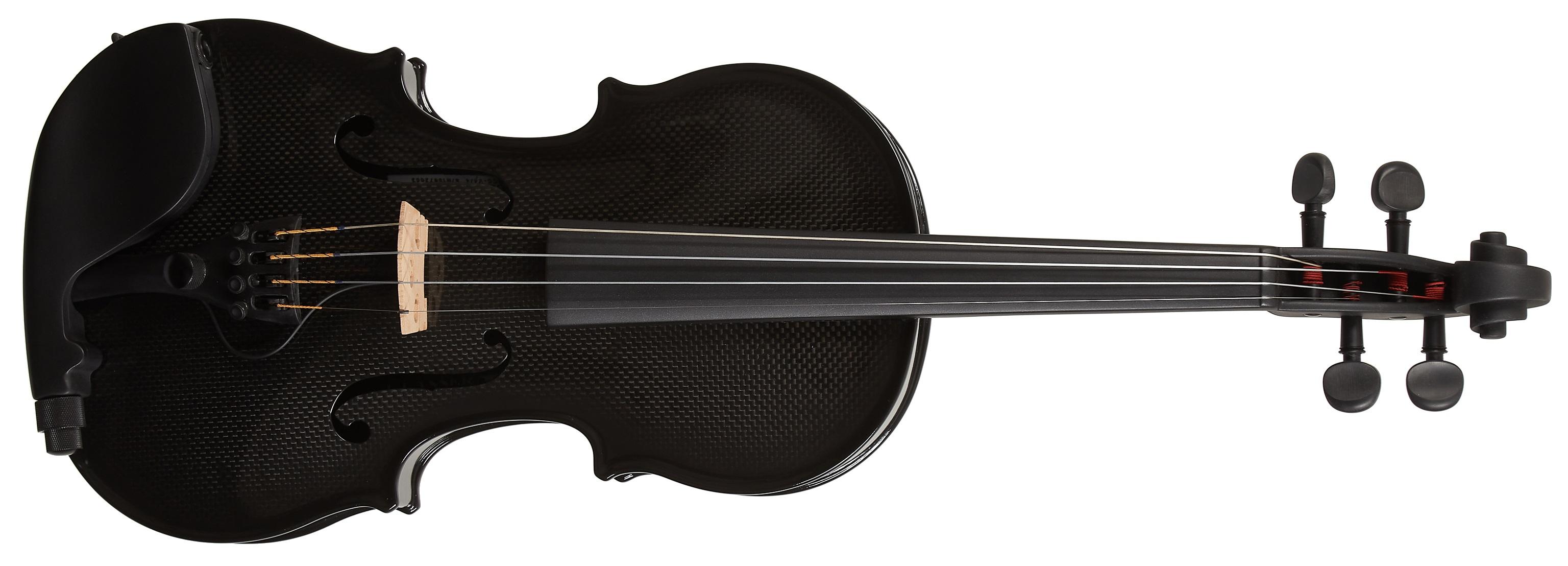 Glasser CC Violin Acoustic Electric Black