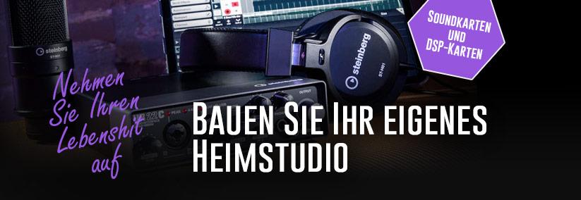 Domácí studio - zvukové karty