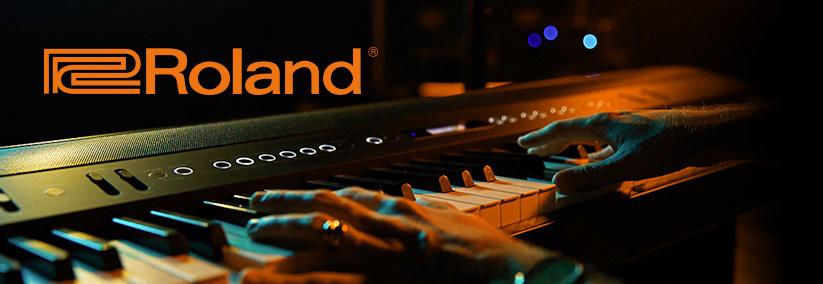 Roland klávesy